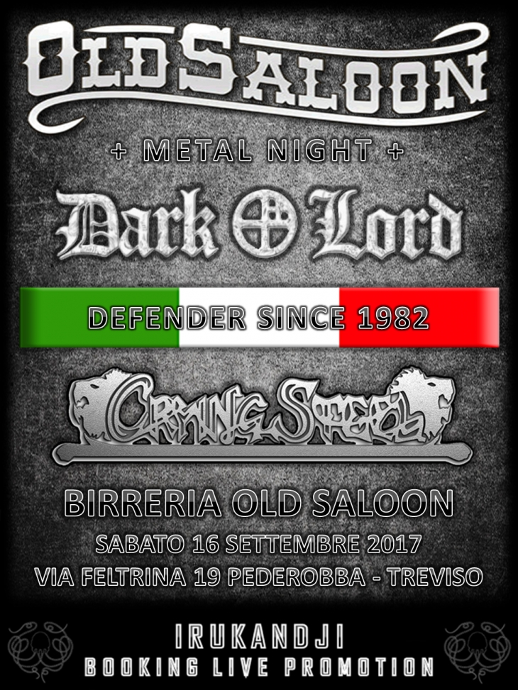Dark Lord and Crying Steel @Old Saloon