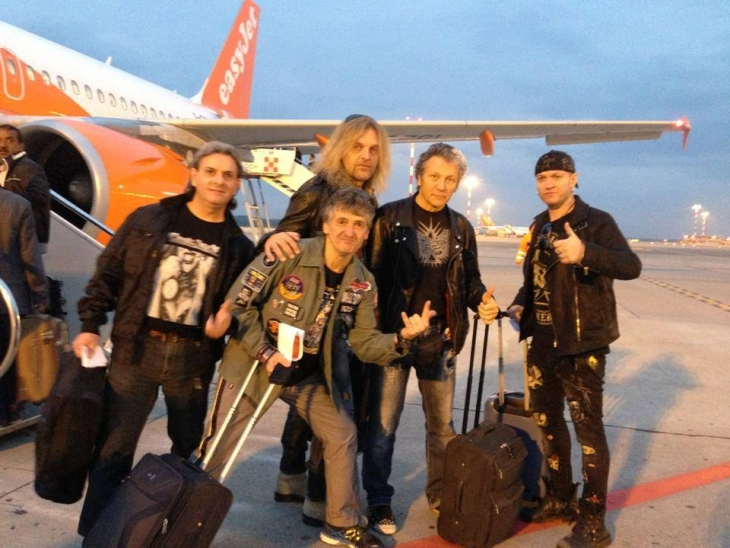 Crying Steel, Destinazione Atene!!! Italian Steel \m/