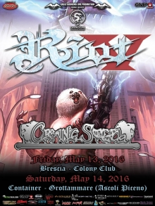 Riot V + Crying Steel + + Infinity + Black Star @Circolo Colony