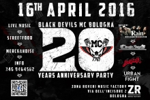 Black Devils MC Bologna 20th Years Anniversary Party