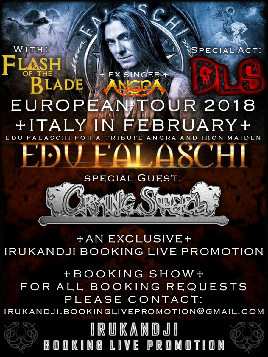 "ON TOUR WITH EDU FALASCHI ""Ex Singer Angra""."