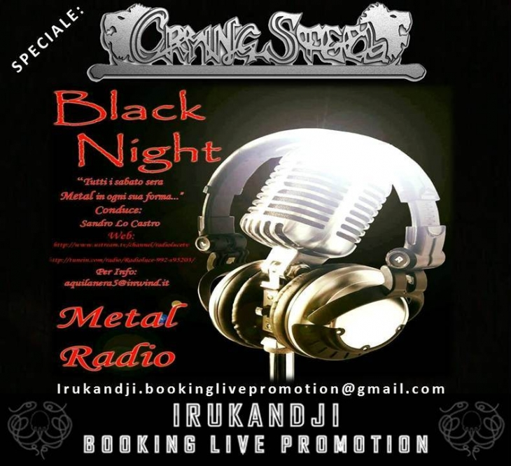 BLACK NIGHT RADIO: Speciale Crying Steel.
