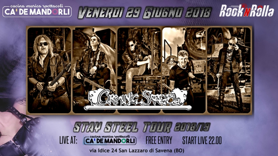 Prima data di Stay Steel Tour